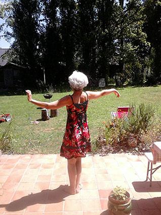 Marie Laure Percot Méditation dansée